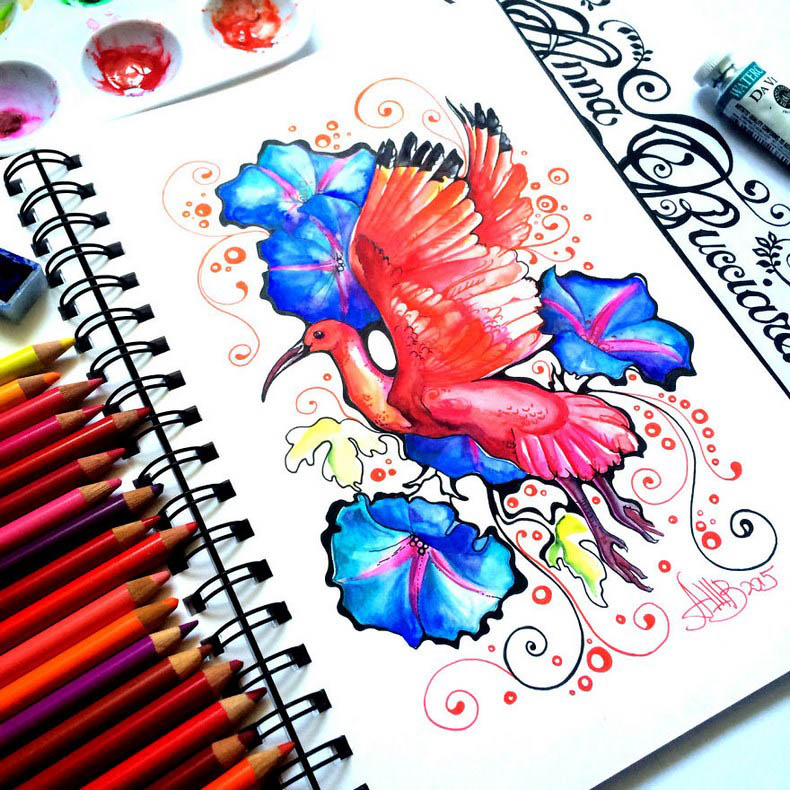 I-collect-colorful-creatures-in-my-sketchbook-vinegret (2)