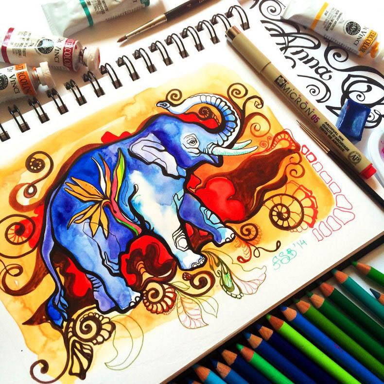 I-collect-colorful-creatures-in-my-sketchbook-vinegret (3)
