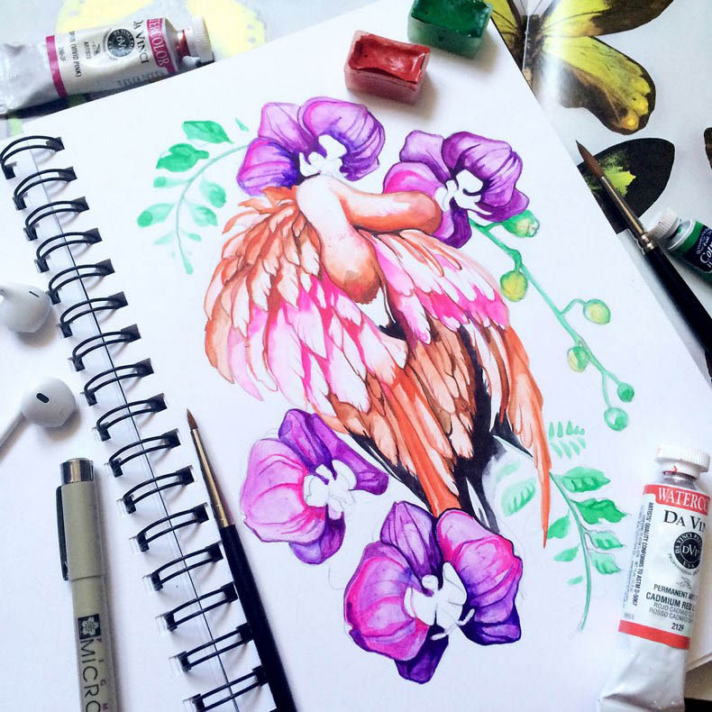 I-collect-colorful-creatures-in-my-sketchbook-vinegret (9)