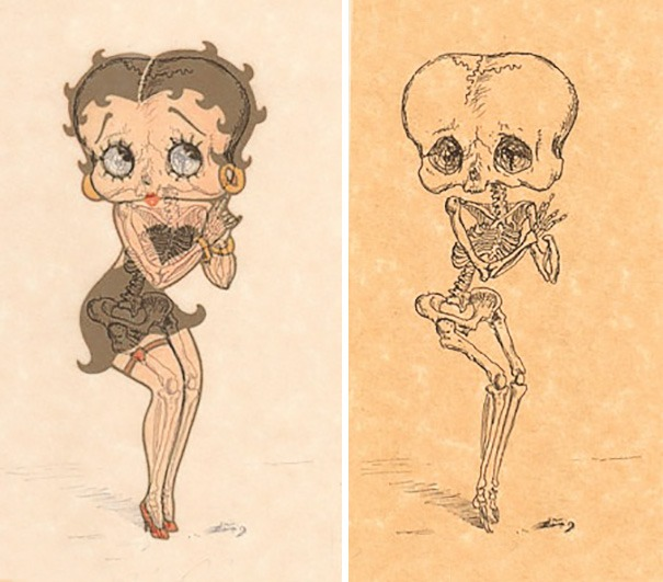 cartoon-character-skeletons-michael-paulus-vinegret (1)