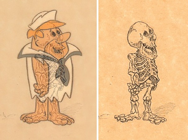 cartoon-character-skeletons-michael-paulus-vinegret (2)