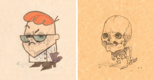 cartoon-character-skeletons-michael-paulus-vinegret (7)