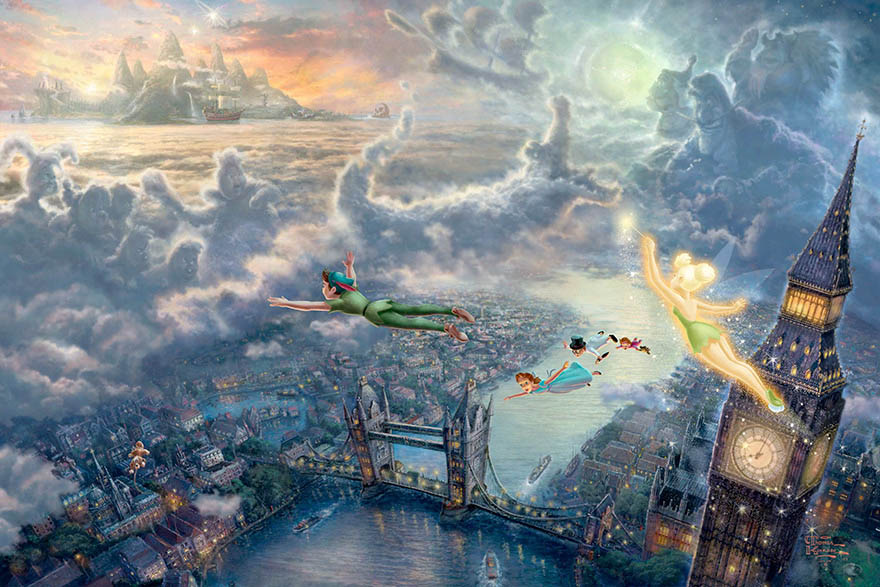 disney-paintings-thomas-kinkade-vinegret (24)