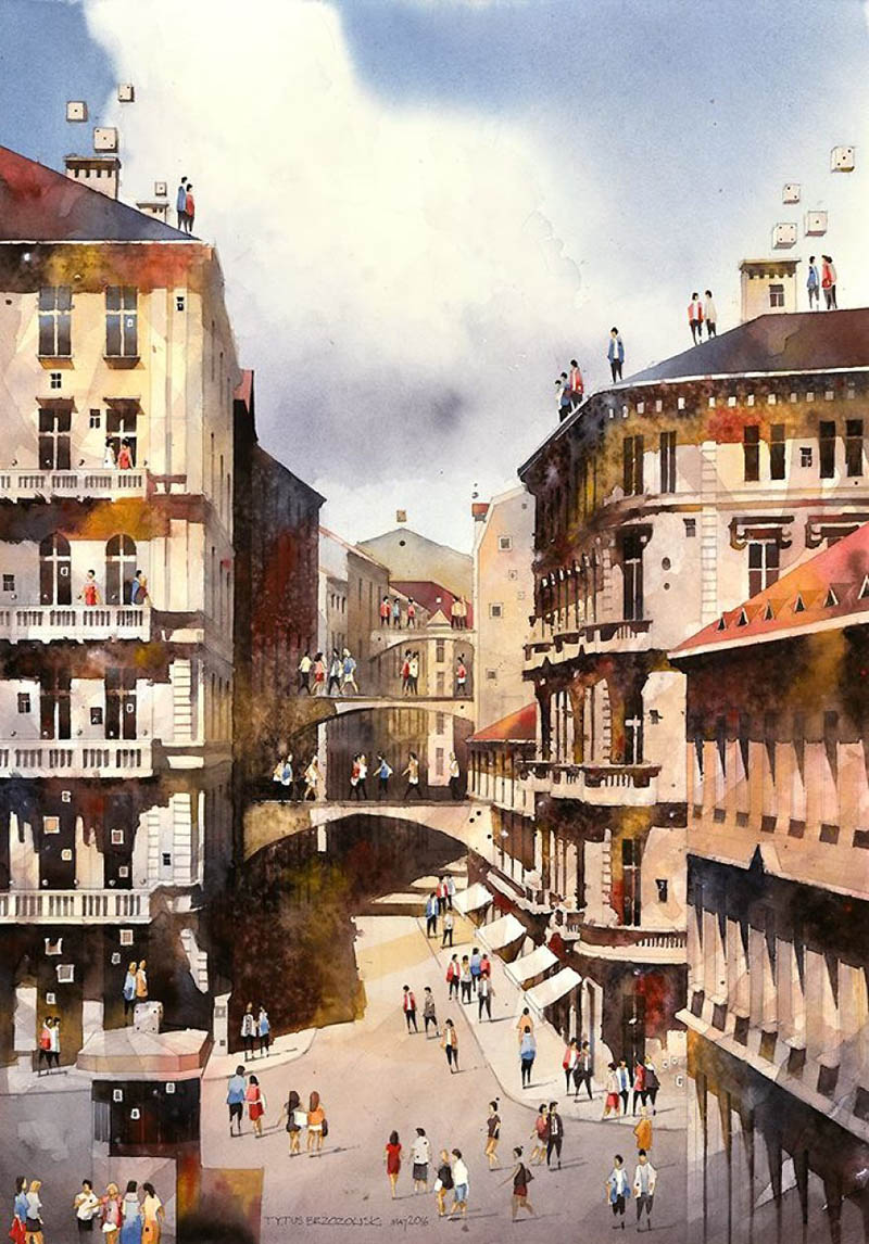artist-from-poland-nostalgic-for-19th-century-warsaw-recreates-it-in-watercolour-vinegret (13)