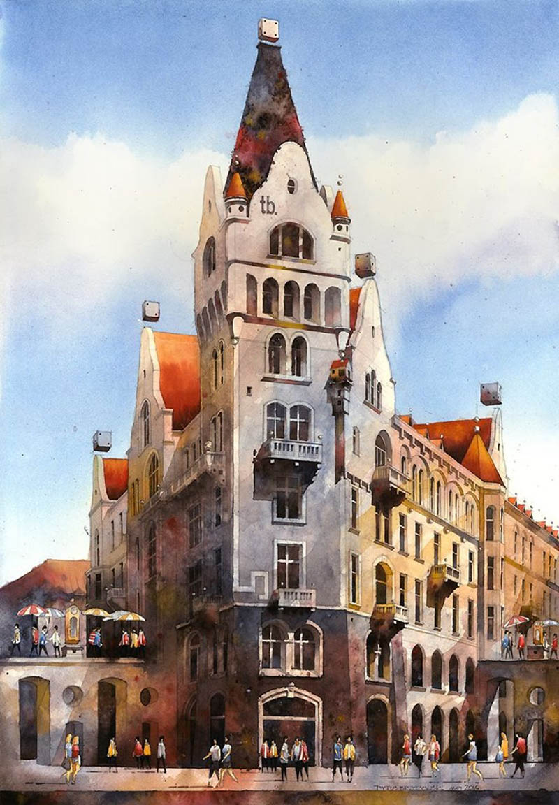 artist-from-poland-nostalgic-for-19th-century-warsaw-recreates-it-in-watercolour-vinegret (7)